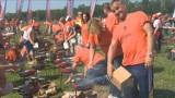 W Dolinie Charlotty pobito rekord Guinnessa w jednoczesnym grillowaniu [wideo]