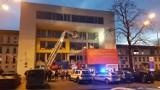 W trakcie zajęć, budynek WST w Katowicach zaczął pękać. Ewakuowano studentów