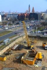 Wrocław. Zobacz, co powstaje w miejscu kultowej plackarni w centrum miasta (ZDJĘCIA)