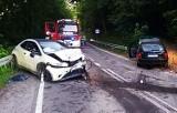 Wypadek zablokował główną szosę między Muszyną i Piwniczną. Ranni trafili do szpitala
