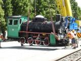 Na pleszewskiej stacji nie ma już lokomotywy... Rozpoczęła się jej renowacja