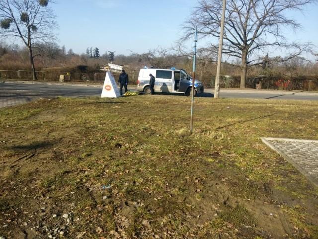 Akcja policji na Stabłowickiej