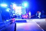 Nowy Sącz. Nocny pożar samochodu na osiedlu Gołąbkowice