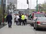 Ewakuacja w Poznaniu: Fałszywy alarm w Allegro! [ZDJĘCIA, WIDEO]