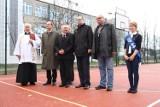Gdańsk: Otwarcie przebudowanego boiska przy SP nr 44 na Przymorzu [ZDJĘCIA]