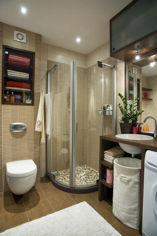 Jak zmieścić wszystko w małej łazience