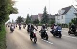 Motocykliści przejechali przez Stargard. Parada 177 motocykli na ulicy Szczecińskiej