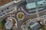 Zielona z drona. Palmiarnia, Focus i dworzec, czyli zielonogórskie klimaty w niecodziennym wydaniu