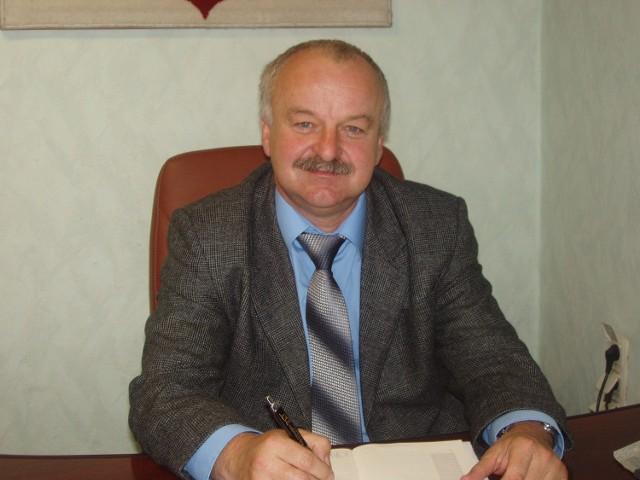 Marcin Sokołowski, wójt gminy Budzyń
