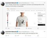 """Internetowy sklep przeprasza za koszulki z nadrukiem """"Camp Aushwitz"""""""