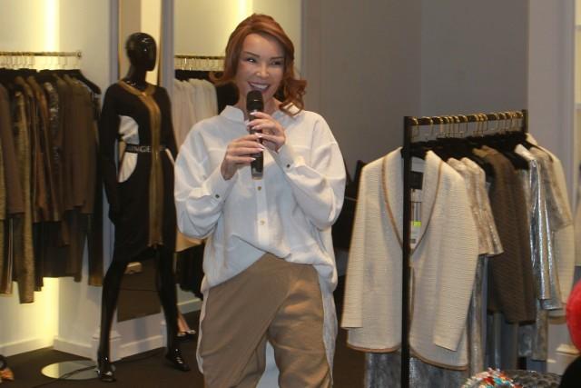 Wydarzeniem wieczoru była także premiera zupełnie nowej marki Ewy Minge, nad którą pracowała przez ostatni rok.