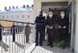 Uroczyste otwarcie nowo wybudowanej części siedziby Komendy Powiatowej Policji w Pruszczu. Zobaczcie zdjęcia!