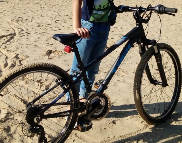 Oto skradziony na os Piastowskim rower. Może go ktoś dzisiaj widział?
