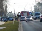 Wypadek w Ustce. Potrącenie rowerzysty na ul. Darłowskiej [ZDJĘCIA]