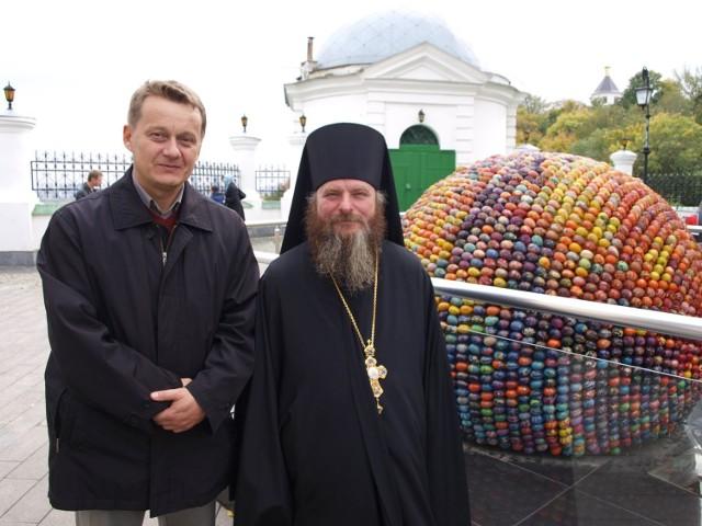 Zdjęcia z filmu Archimandryta oraz jego promocji na festiwalach