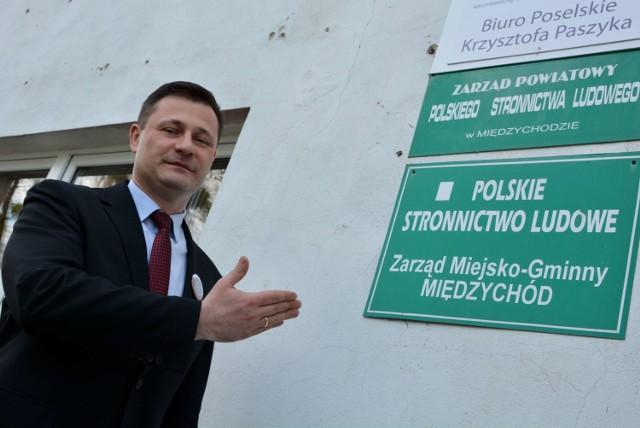 Otwarcie nowego biura poselskiego PSL w Międzychodzie