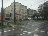 Kraków. Zerwanie trakcji w centrum miasta. Są utrudnienia w ruchu