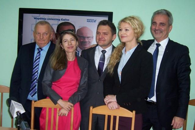 Nowo wybrani SLD w Kaliszu podziękowali wyborcom i zapewnili o poparciu dla Grzegorza Sapińskiego