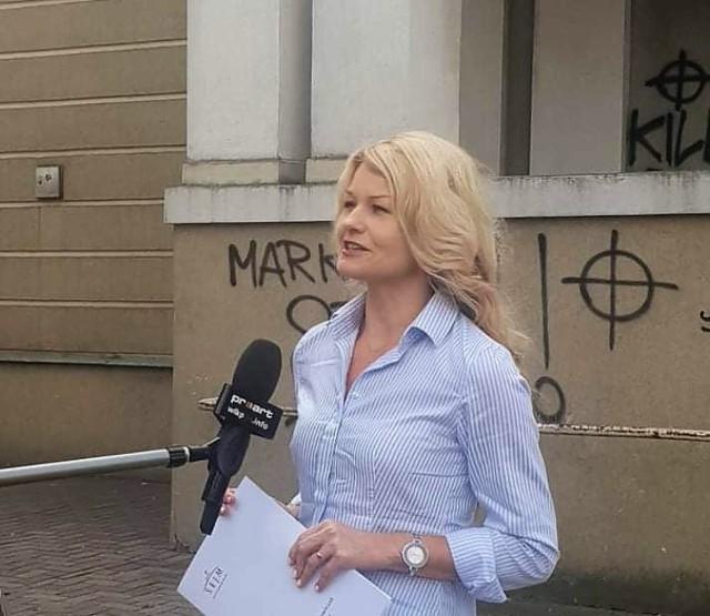 Atak na biuro posłanki Lewicy Karoliny Pawliczak