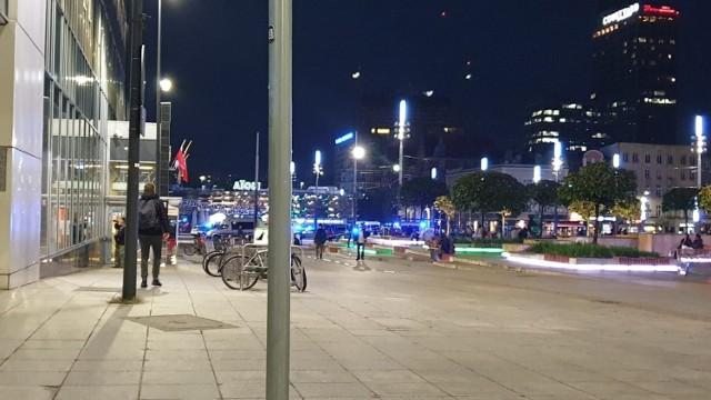 Bójka dwóch grup na rynku w Katowicach zakończyła się interwencją policji
