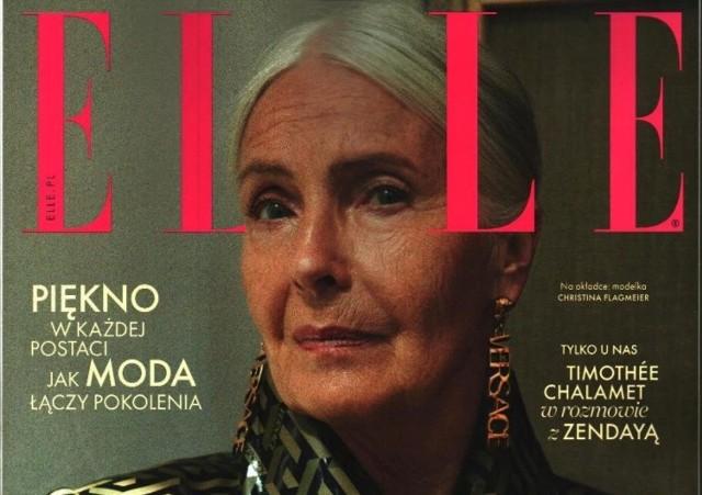 74-letnia Christina Flagmeier, inowrocławianka mieszkająca w Niemczech, trafiła na okładkę topowego pisma Elle