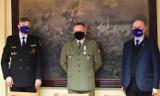 Częstochowa: Przedstawiciele władz miasta podziękowali za pracę komendantowi Wojskowej Komendy Uzupełnień