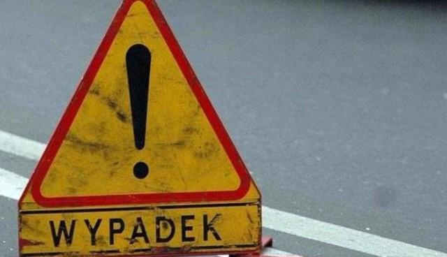 Do wypadku doszło na ulicy Bydgoskiej w Drzycimiu, nieopodal przejazdu kolejowego