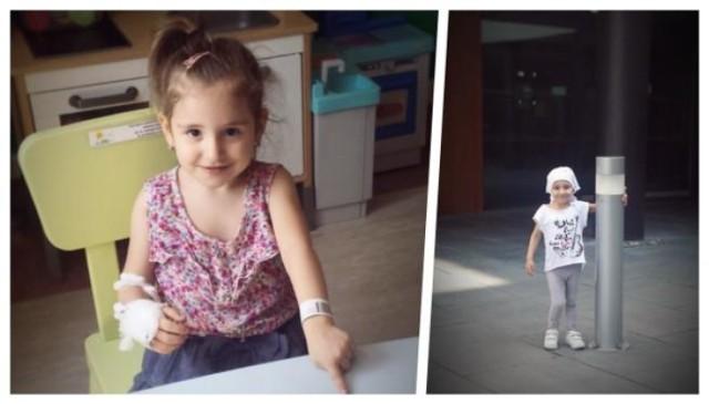 4-letnia Samira potrzebuje wsparcia finansowego w walce z rakiem