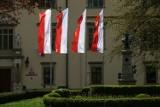 Kraków w barwach narodowych i europejskich. W ten weekend wspominamy ważną datę
