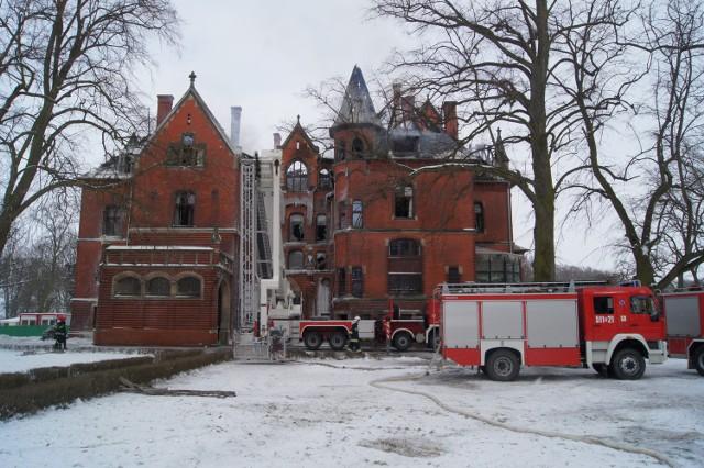 Zabytkowy pałac spłonął. Niedługo ruszy odbudowa