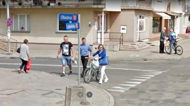 Kamery Google Street View jeździły po Kraśniku w 2013 i 2017 roku