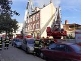Pożar w Chojnowie! Ogień odciął mieszkańcom drogę ucieczki! [ZDJĘCIA]