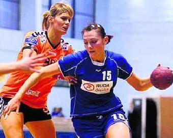 Małgorzata Kucińska (z prawej) jest ambitną zawodniczką Zgody.