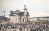 Nowy Sącz na starej fotografii. Sprawdzamy, jak wyglądałby 100 lat temu w kolorze [ZDJĘCIA]