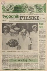 """""""Tygodnik"""" w cytatach, rok 1986 - nasze radości i dramaty. Puchar Polski w Pile oraz lodowata zima"""