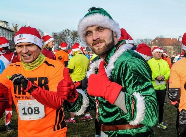Bieg Mikołajów w Sopocie