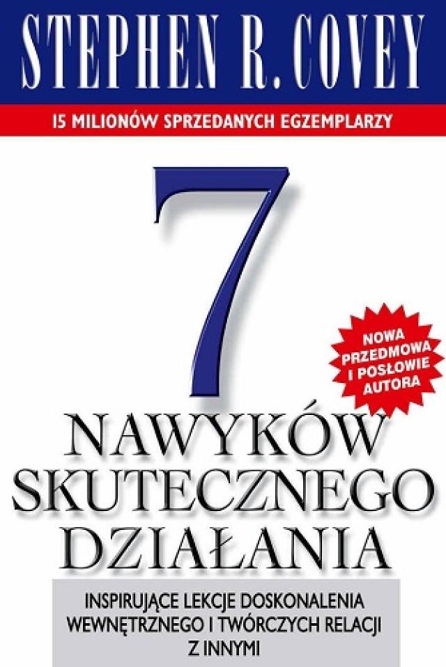 """Do rozdania mamy dwa egzemplarze książki """"7 nawyków skutecznego ..."""