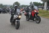 Kraków. Pielgrzymka motocyklistów wyruszyła z Krakowa do Koryntu, gdzie zapłonie Iskra Miłosierdzia