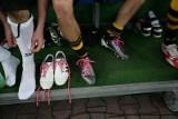 Różowe sznurówki - zrób USG, piłkarze solidaryzowali się z chorymi na nowotwory
