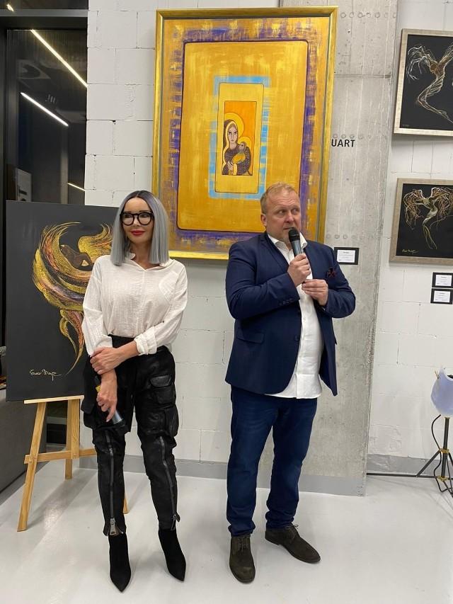 """Wystawa prac Ewy Minge pod tytułem """"Wszystkie moje grzechy główne"""" w Praskim Centrum Kultury Koneser"""
