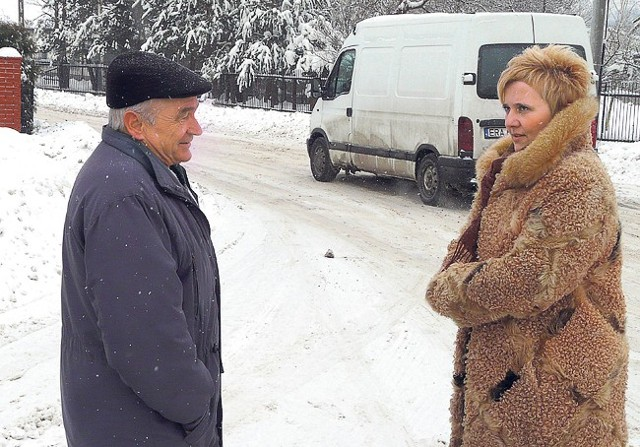 - Na ulicy Leśników sytuacja jest tragiczna - mówią Witold Sobczyk i Edyta Sapis