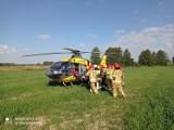 Groźny wypadek na przejeździe kolejowym w Budzyniu