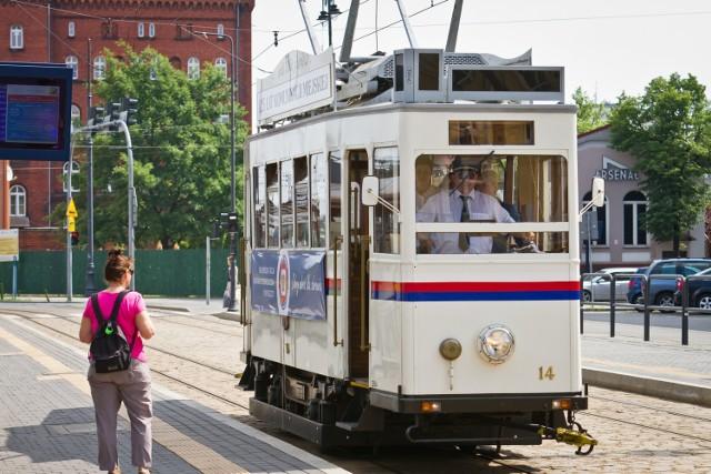 Stare tramwaje stanowiły ciekawą propozycję zarówno dla mieszkańców, jak i turystów odwiedzających nasze miasto.