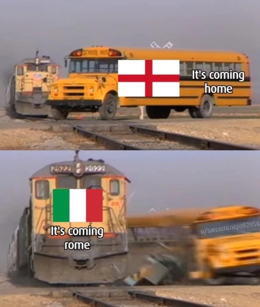 Memy po finale Euro 2020 Anglia - WłochyZobacz kolejne...