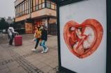 Plakaty z dzieckiem w sercu na przystankach w Gdańsku. Co oznaczają? To promocja hospicjów perinatalnych