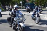 Motocykliści ze Skierniewic uczcili otwarcie ulicy Rawskiej [ZDJĘCIA]