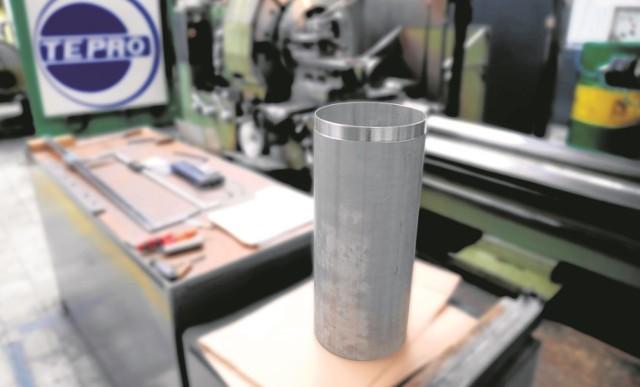 Tak wygląda kapsuła jeszcze w czasie produkcji. Zdjęcia z procesu jej powstawania też zostaną włożone do środka