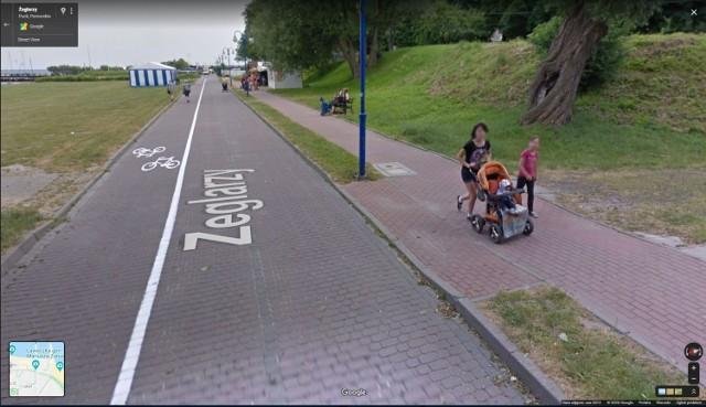Mieszkańcy Pucka na Google Street View. Zobacz kogo przed kilku laty złapały kamery pojazdu Google. Rozpoznasz ludzi na ulicach Pucka?
