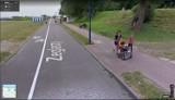 Puck: Oni wpadli w oko kamerze Google'a! Street View na ulicach Pucka