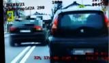 Łęki. 20-latka jednym przejazdem uzbierała 26 punktów karnych i straciła prawo jazdy [ZDJĘCIA,WIDEO]